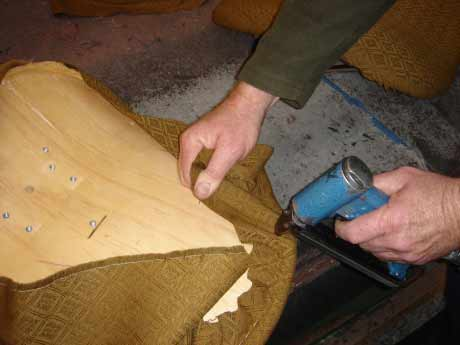 Reupholstery process